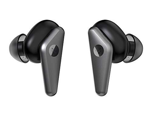 Libratone TRACK Air+ True Wireless In-Ear Kopfhörer smarter Geräuschunterdrückung (24h Akku – 6h Kopfhörer/18h Ladecase, ANC, schweiß-/spritzwasserschutz IPX4, Bluetooth 5.0) schwarz