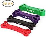 INTEY Fitnessbänder Premium Resistance Band Gymnastikband aus...