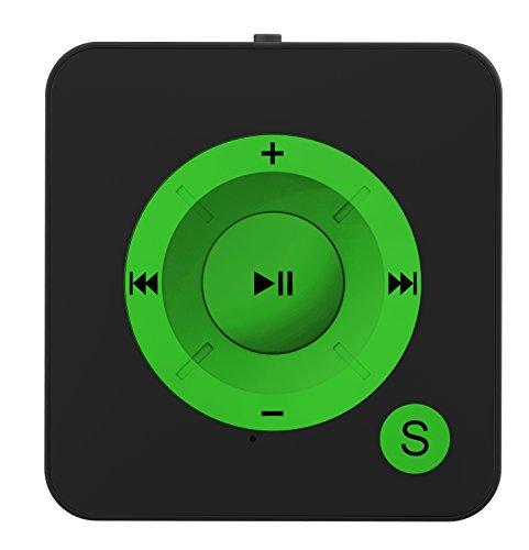 BERTRONIC Made in Germany BC06 Royal MP3-Player 15 Stunden Wiedergabe | Portabler Player mit Clip | Audio-Player für Sport, Fitness, Joggen mit Micro SD-Kartenslot