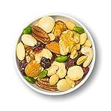 1001 Frucht Edle Nussmischung 1000 g naturbelassene Nüsse veredelt mit Cranberrys ohne Zucker und ohne Zusätze vegan I Exklusiver Beeren Nuss-Mix I Frische gemischte Nüsse ungesalzen ungezuckert