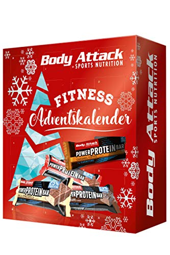 Body Attack Sports Nutrition Original FITNESS - ADVENTSKALENDER 2020 - Protein- und Fitnessriegel