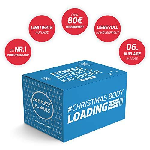 Protein Projekt Original Fitness-Adventskalender - 24 sportliche und fitte Ãœberraschungen verschiedener Marken & Kategorien