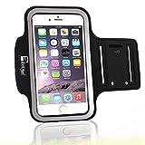 RevereSport Sportarmband kompatibel iPhone 7/8 Mit Fingerprind-Identifizierung. Armband Telefon Handyhalter Case für Laufen, Workout, Joggen und Fitness