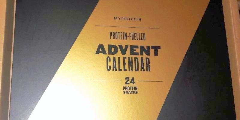 Review Myprotein Proteinhaltiger Adventskalender