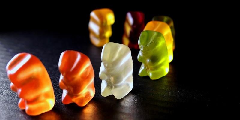 Glycin Wirkung Gummibären Gelatine Kollagen