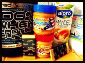 Protein Erdnussbutter Cookies Zutaten
