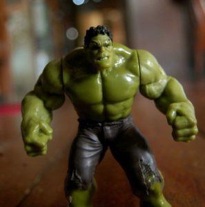 Hulk Muskelaufbau
