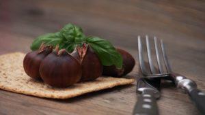 Esskastanien (Maroni) Nüsse gesund