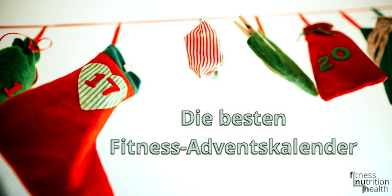 Fitness Adventskalender Protein fiinuh