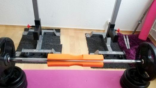 Langhantel Teppich Fitnessgeräte für zuhause Muskelaufbau