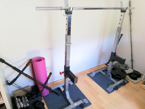 Rack Fitnessgeräte für zuhause Muskelaufbau